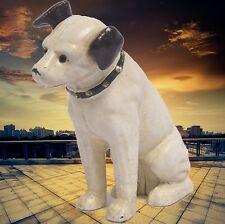 Spardose Hund Jack Russel ACAST IRON NIPPER DOG BANK Eisen Vintage Geschenk 1