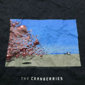 Vintage 2002 The Cranberries Wake Up and Smell the Coffee Tour T Shirt Concert