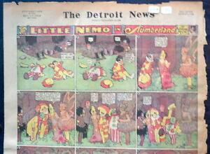 LITTLE NEMO SUNDAY Color Strip 9/12/1926 WINSOR McCAY Little Nemo in Slumberland