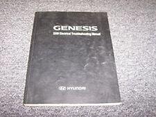 2009 Hyundai Genesis Sedan Electrical Wiring Diagram Manual 3.8L 4.6L V6 V8
