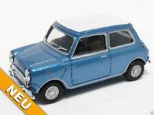 CARARAMA® Mini Cooper blue/white  NEU! 1:72