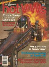 DUNE BUGGIES & HOT VW'S 1983 APR - SUNROOF INSTALL, TYPE 3 TURBO, GTI-TURBO