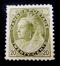 nystamps Canada Stamp # 84 Mint OG H UN$1000 VF
