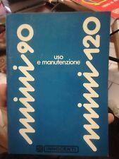 INNOCENTI MINI 90 E MINI 120 - USO E MANUTENZIONE  1974 auto macchina libretto