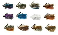 Terminator Pro's Jig Weedless Skirted Bass Fishing Jig - Select Color and Weight
