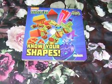 Half-Shell Heroes Know Your Shapes Board book New Book