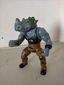 Vintage TMNT Teenage Mutant Ninja Turtles Figure Rocksteady 1988