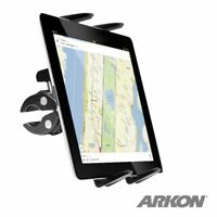 """Boat Helm, Wheelchair, Microphone Stand Clamp Post 9""""-18.4"""" Tablet Mount TAB131"""