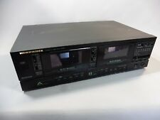 MARANTZ SD 385 platine double cassette vendu en l'etat / NON TESTÉ