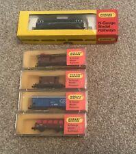 More details for hornby minitrix n- gauge railways n.204 n.501 n.510, n.504 and n.509 boxed