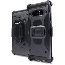 For Samsung Galaxy Note 8 Drop Proof Heavy Duty Holster Combo BeltClip Kickstand
