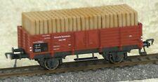 Fleischmann H0 5208 Offener Güterwagen mit Grubenholzladung
