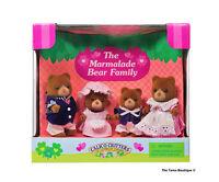 Sylvanian Families Calico Critters Marmalade Bear Family