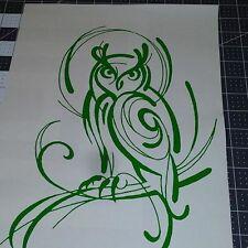 Owl - Vinyl graphic decals Stickers Car Auto Window