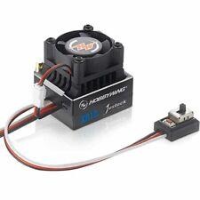 Hobbywing XR10 XERUN Justock Esc/sin escobillas Control de Velocidad 60A Negro: 1/10 1/12