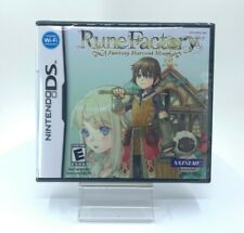 Rune Factory: A Fantasy Harvest Moon (Nintendo DS, 2007)* factory sealed*