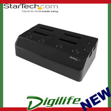 STARTECH 4-Bay Hard Drive Docking Station for 2.5 /3.5 SSDs and HDDs - eSATA/USB