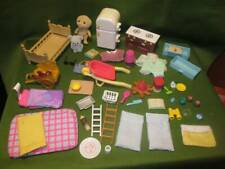 Calico Critters ~❤️~ Large Lot of Furniture and Accessories