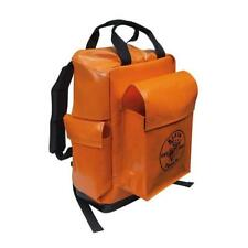 Klein Tools 5185ORA Lineman Backpack, Orange