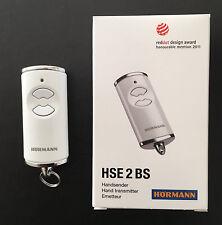 Hörmann Handsender HSE 2 BS - 868,3 MHz BiSecur- NEU- Fernbedienung weiß