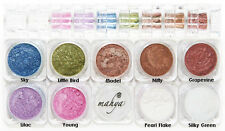 "MAHYA Pure Mineral Vegan Makeup Eye Shadow Pigment 9 Stackable Colors""Wellness"""