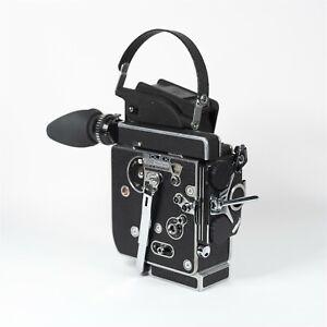 [Near Mint] CLA'd Bolex H16 REX-5 w/ 13x Reflex Viewfinder 16mm Film Camera