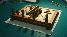 Hobby ship model kits scale 1/30 The ancient naval cannons scene wooden model