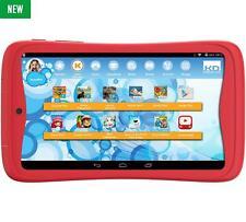 KURIO TAB JUNIOR 7 Inch Kids Tablet PC 8GB, 1GB Ram, Android 6 Marshmallow Red