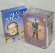 Stephen Fry Collection 6DVD + Alan Whicker JOURNEY OF A LIFETIME 3DVD ~ AsNew