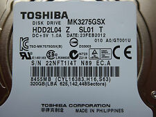 320 gb toshiba mk3275gsx/hdd2l04 Z sl01 T/feb 2012/g002825a disco rigido