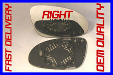 VW GOLF JETTA MK5 2004-2008 DOOR WING MIRROR GLASS BLIND SPOT HEATED RIGHT