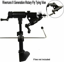 Rotary Fly Tying Vise with Jaw Balanced and Truly Extendable, Right & Left Hand