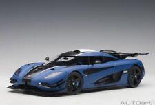 1:18 Autoart #79018 Koenigsegg One:1 Mate Imperial Blue / Negro de Carbón/Blanco