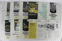 CLIPPARD MINIMATIC Catalogs Bulletins Tech Data Sheets ~ 12 Different ~ 1980's