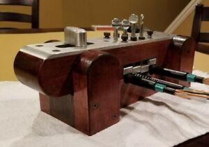 Fiber Optic Splicing Clamp- Mounts to Work Table And Work Bench Great Tool