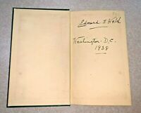 Edmund A WALSH The Woodcarver of Tyrol Signed Copyright, 1935