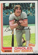 Topps 1982 Baseball Card - No 204 - Gary Roenicke - Orioles