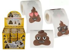 Fantaisie Caca Emoji toilette Loo Rouleau papier tissu Emotion émoti amusant