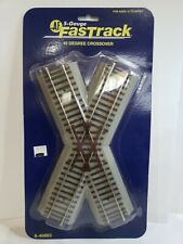 S SCALE AMERICAN FLYER #6-49863  Fastrack 45 Degree Crossover.