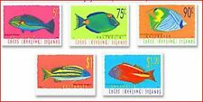 COC874 Fishes 5 stamps