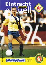 II. BL 91/92  Eintracht Braunschweig - FC St. Pauli, 15.12.1991