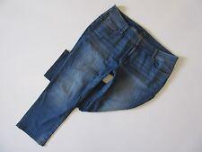 Lucky Brand Georgia Straight in Sandy Cross Plus Size Stretch Jeans 22W x 28