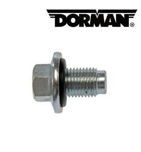 DORMAN Oil Drain Plug Fit Chrysler 200, 300, Cirrus/ Dodge Avenger, Caravan...