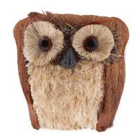 Wooden Cartoon Owl-shaped Flower Pot for Succulents Fleshy Plants Flowerpot
