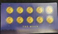 Scott# 5058 GLOBAL FOREVER THE MOON 2016 MNH SHEET of 10 FOREVER INT'L STAMPS