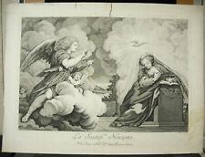Eglise de Parme Italie gravure XVIIIe RAVENET & Antonio CORREGGIO LE CORRÈGE