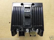 GE TQL32015 TQL 15 amp 3 pole circuit breaker chipped