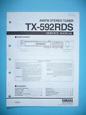 Service Manual für Yamaha TX-592RDS  ,ORIGINAL