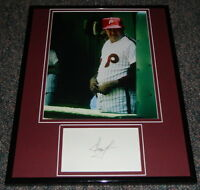 Dallas Green Signed Framed 11x14 Photo Display Philadelphia Phillies