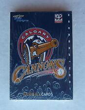 Calgary 2001 Cannons Baseball Team Set of Cards NEW